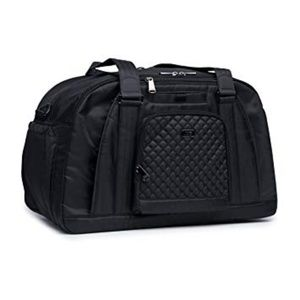 Lug Propeller Gym / Overnight Bag - Midnight Black